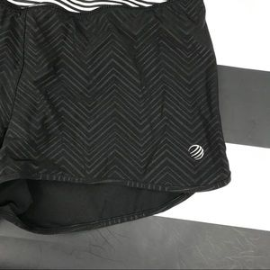 MPG Shorts - 5 for $25 MPG Black Striped Running Shorts